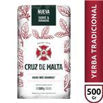 Yerba Mate CRUZ DE MALTA Con Palo Paquete 500 Gr