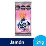 Galleta Jamon Club Social Paq 144 Grm