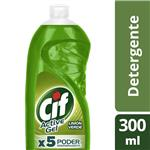Detergente CIF ACTIVE GEL Limón Verde Botella 300 Ml