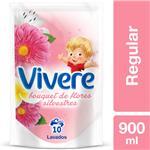 Suavizante Para Ropa Vivere Regular Bouquet De Flores Silvestres 900 Ml