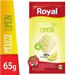 Mousse ROYAL Limón    Sobre 65 Gr
