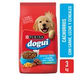 Alimento Cachorros PURINA DOGUI 3 Kg Carne, Cereales Y Leche