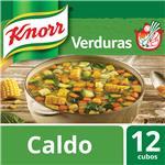Caldo En Cubos Knorr De Verduras 12 Unidades