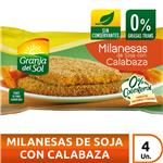 Milanesa Soja Calabaza Granja Del Paq 330 Grm
