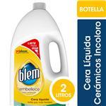 Cera Líquida Pisos Cerámicos BLEM Incoloro Botella 2l