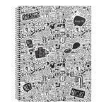 Cuaderno Universitario 84 Hojas Cuadriculadas
