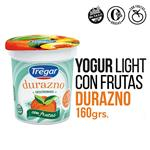 Yogur Descremado TREGAR Duraznos Con Frutas 160 Gr