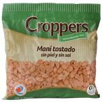 Mani Tostado CROPPERS Sin Piel Sin Sal Bsa 400 Grm