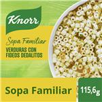 Sopa Verduras Con Fideos Dedalitos KNORR Sobre 115.6 Gr