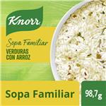Sopa Familiar Knorr Caserísimo Verdura Con Arroz 98.7 Gr