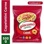 Capelettini GIACOMO  Carne   Paquete 500 Gr