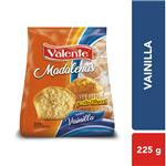 Madalenas Vainilla. VALENTE Paq 225 Grm