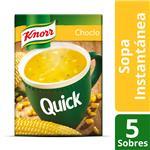 Sopa Choclo KNORR  Quick  Caja X 5 Sobres