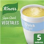 Sopa Vegetales KNORR Quick Light Caja X 5 Sobres