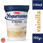 Yogur Entero YOGURISIMO Vainilla Firme 190 Gr