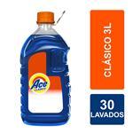 Jabón Liquido ACE Acción Instantánea    Botella 3 L