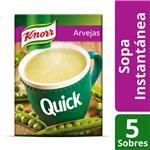 Sopa Arvejas KNORR Quick Caja X 5 Sobres