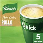 Sopa Knorr Quick Pollo 5 Sobres