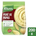 Puré De Papas Instantáneo KNORR Listo Regular Sin Conservantes 200 G
