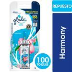 Desodorante De Ambiente GLADE TOQUE Harmony Blister 9 Gr