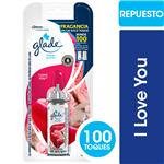 Desodorante De Ambiente GLADE TOQUE I Love You Blister 9 Gr