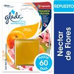 Aromatizante De Ambientes En Gel GLADE Sensations Néctar De Flores Repuesto 8gr