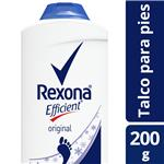 Desodorante Pédico Talco REXONA Efficient 200g