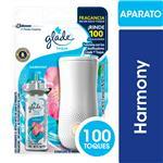 Aromatizante De Ambientes GLADE Toque Harmony Aparato + Repuesto 9gr