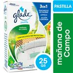 Pastilla Para Inodoro Glade Mañana De Campo 25gr