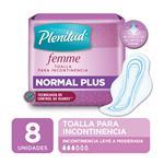 Toalla Normal Plus Plenitud Femme X8