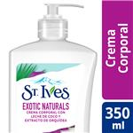 Crema St Ives Corporal Exotic Natural Bot 350 Ml