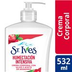 Crema St Ives Corporal Humectacion Intensiva Bot 532m