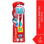 Cepillo Dental Colgate 360º Luminous White Medio 2unid