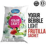 Yogur Descremado TREGAR Frutilla Bebible 900 Gr