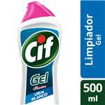 Limpiador Cif Gel Ultra Blanco 500 Ml