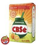 Yerba Mate CBSÉ Naranja Con Palo Paquete 500 Gr
