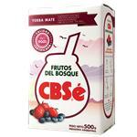 Yerba Mate CBSÉ Frutos Del Bosque Paquete 500 Gr