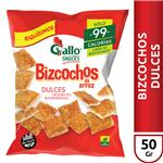 Bizcochos Dulces Gallo Snack Bsa 50 Grm
