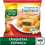 Croquetas Espinaca Granja Del Fwp 400 Grm