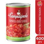 Tomate Cubeteado LA CAMPAGNOLA Lata 400 Gr