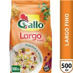 Arroz Largo Fino GALLO Versátil Paquete 500 Gr