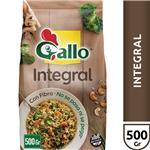 Arroz Largo Fino GALLO Integral Con Fibra Paquete 500 Gr