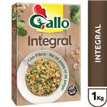 Arroz Largo Fino GALLO Integral Con Fibra Caja 1 Kg