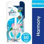 Aromatizante De Ambientes GLADE Aceites Naturales Harmony Repuesto 21ml