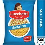 Dedalitos LUCCHETTI     Paquete 500 Gr