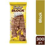 Chocolate COFLER Block 300 Paq 300 Grm