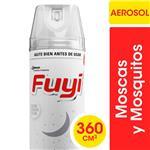 Insecticida Mata Mosquito FUYI Efectividad Comproba Aer 360 G