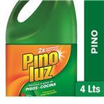 Limpiador PINOLUZ Concentrado Pino Larga Duracion Bot 4 Lt