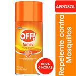 Repelente Para Mosquitos Off! Family Aerosol 165cc