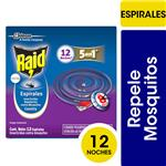 Insecticida RAID Repele Mosquitos Country Fresh En Espiral 12un